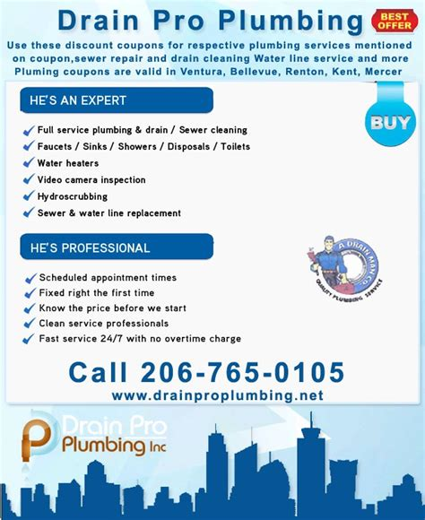 Pro Drain Plumbing by Affordable Plumbing Services Drain Plumbing Pro Inc We Recommend That You Call Our Office At 206