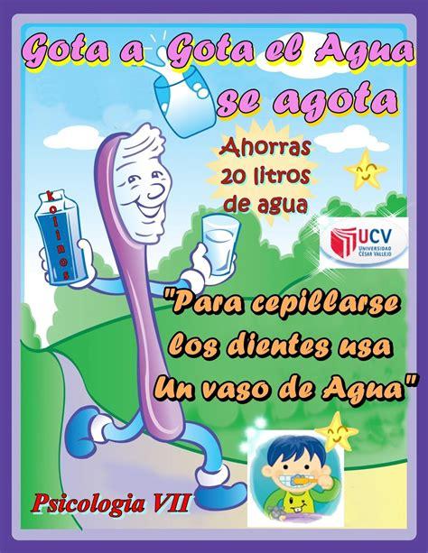afiches alusivos al ahorro de energia afiche sobre cuidado del agua imagui
