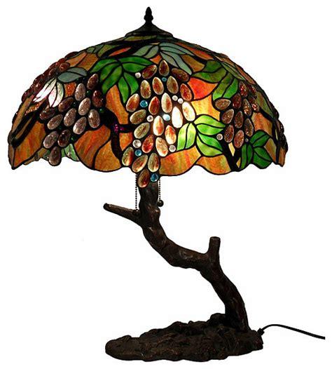 robert louis tiffany jewel tone art glass floor l tiffany style l jewel tone tiffany style art