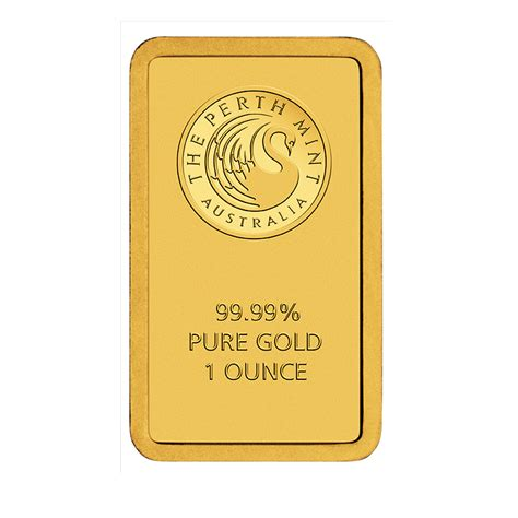 How To Make A Gold Bar Out Of Paper - buy 1 oz gold perth bullion 9999 bars brand new