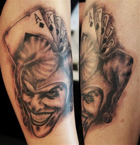tattoo von joker kiez tattoo joker tattoos von tattoo bewertung de