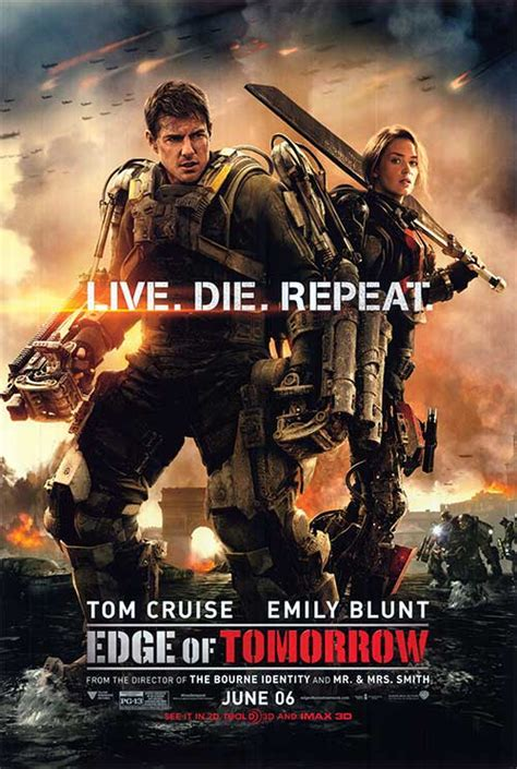 theme song edge of tomorrow edge of tomorrow movie posters at movie poster warehouse