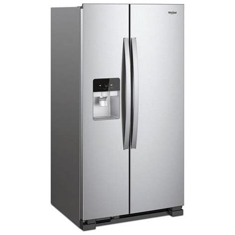 Water Dispenser In Refrigerator wrs321sdhz whirlpool 33 quot 21 cu ft side by side