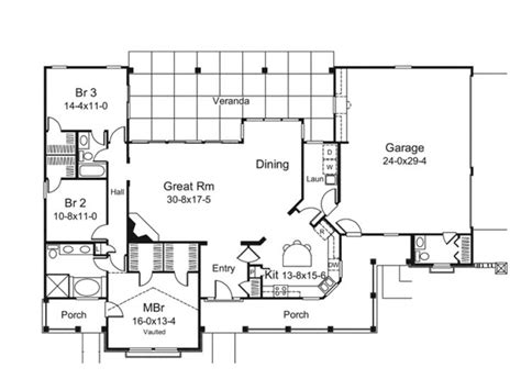 great room floor plans big great room house plans pinterest
