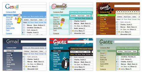 weather themes in gmail google adds themes to gmail technogadge