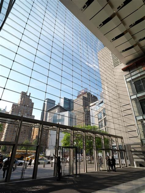 Time Warner Cable Garden by Time Warner Center New York Ny W W Glass Projects
