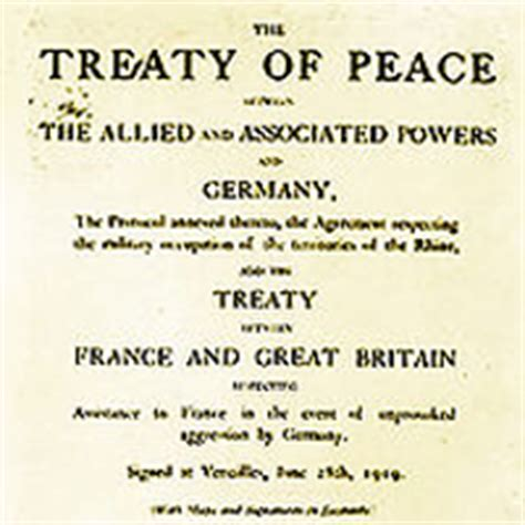 Outline The Non Territorial Terms Of The Treaty Of Versailles by Milestones 1914 1920 Office Of The Historian