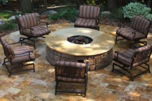 Paver Patios With Fire Pit by Pavers