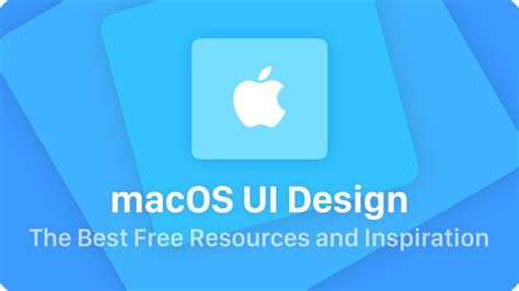 design free resources macos ui design the best free resources inspiration