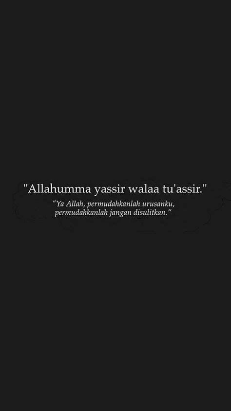 kata kata bijak islam ya allah permudahkan urusanku