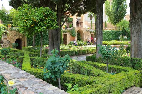 The Gardens of the Alhambra and Generalife, Granada, Spain