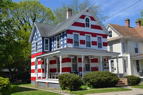 Flag House by Patriotism Nope Protest A Chesapeake Journal