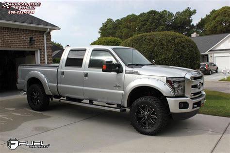f250 black rims ford f 250 fuel maverick d538 wheels black milled