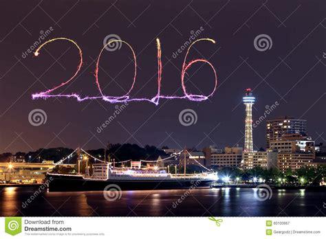 new year fireworks marina bay 2016 new year fireworks celebrating marina bay stock