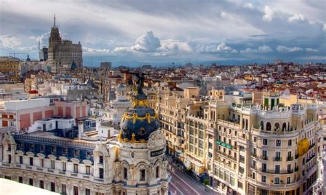 spain vacation with airfare from great value vacations in madrid madrid groupon getaways