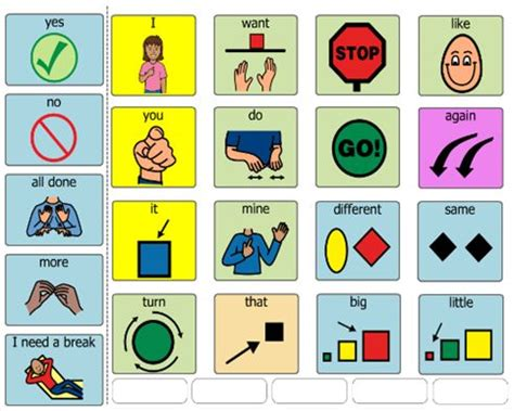 communication book pictures 109 best images about aac boardmaker on