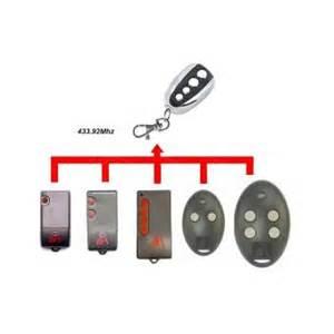 t 233 l 233 commande universelle 433 mhz porte de garage