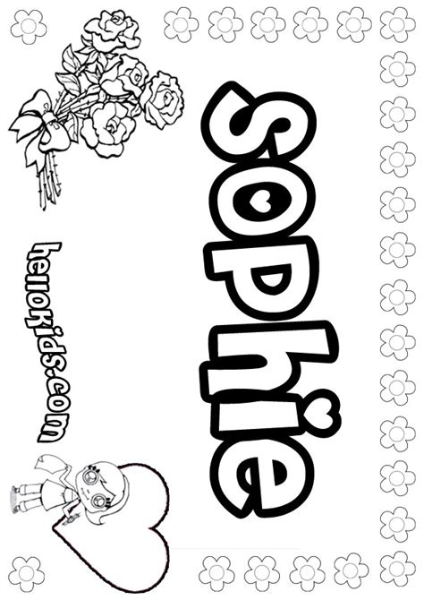 sophie from bfg coloring pages coloring pages
