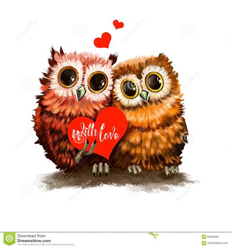 owl lover owl lovers two owl lovers with heart funny birds with card