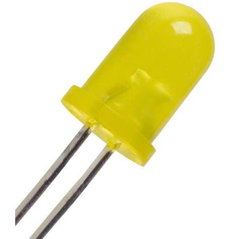 Cnc Led 5mm Bright Yellow Kuning Diffused led yellow bright diffused 5mm digiware store