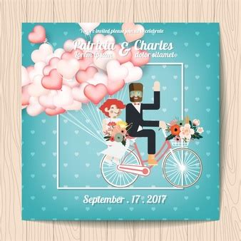 Wedding Invitations With Characters by Fiance Vectors Photos And Psd Files Free