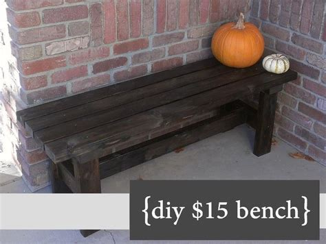 how to build your own bench 25 best ideas about front porch bench on pinterest