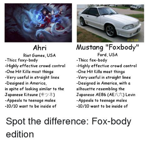 Fox Body Meme - 25 best memes about ae86 ae86 memes