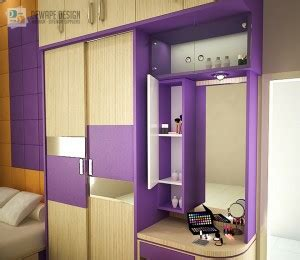 Lemari Kayu Di Malang lemari pakaian minimalis malang dewape design interior malang