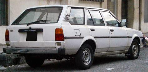 1986 Toyota Wagon File 1986 Toyota Corolla Dx Ke70 5 Door Station Wagon