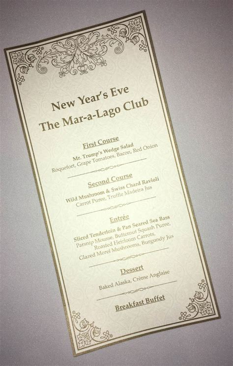 new year dinner speech photos see how spent new year s at mar a lago