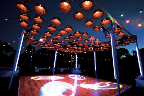 Levy Lighting Nyc Engineered An Outdoor Dance Floor For A Lights Event