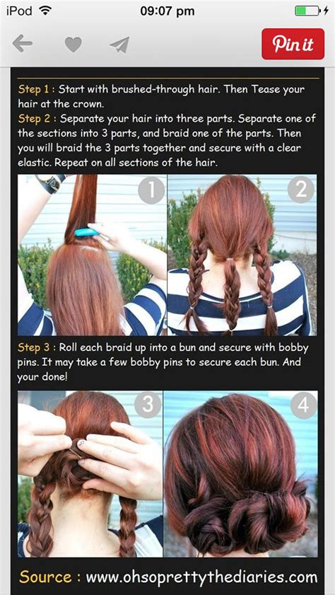 traditional no heat scittish hair styles hairstyles for medium length hair no heat rachael edwards