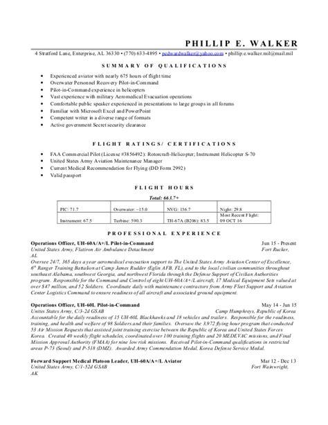 Walker Resume by Phillip Walker Resume