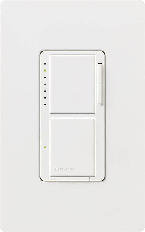 lutron maestro  watt single pole dual dimmer  switch