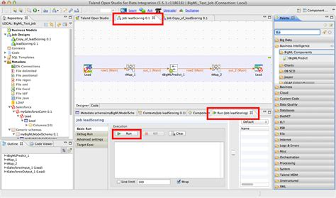execute the job in talend open studio 183 bigmlcom bigml