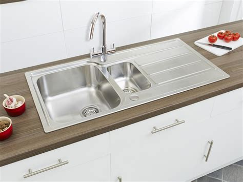 linus 1 5b stainless steel sink modern kitchen sinks