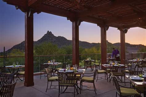 Patio Dining Scottsdale by Best Scenic Views In The Sheet