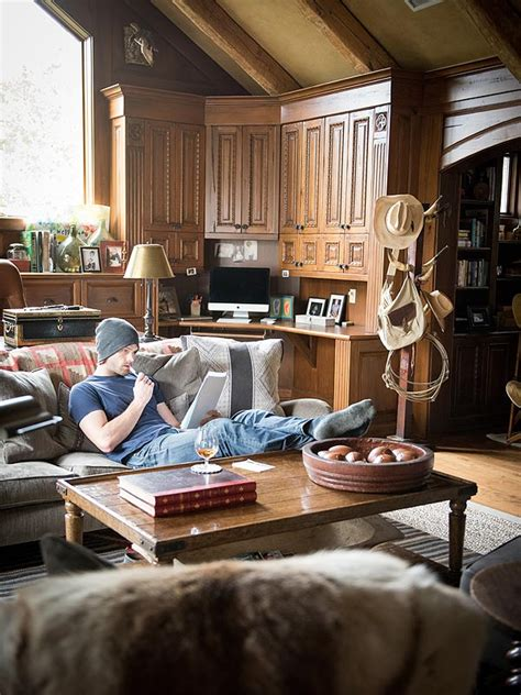jared padalecki house jared padalecki inside his cozy space