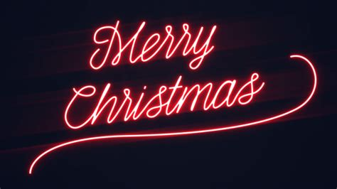 christmas neon signs merry christmas and happy new year 2018