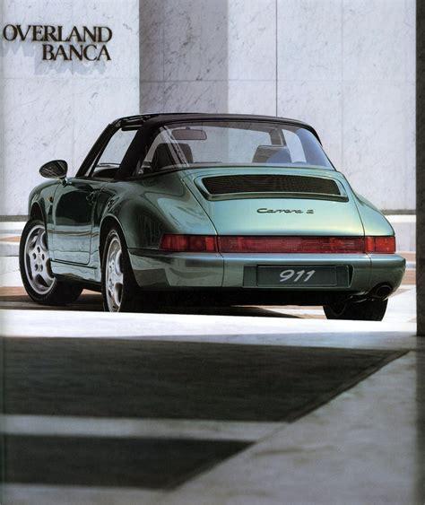 Porsche Targa 964 by Porsche 911 Targa 2 964 1989 1990 1991 1992 1993