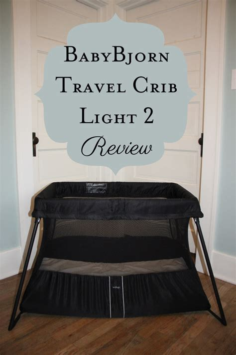 Baby Bjorn Travel Crib Black Babybjorn 174 Travel Crib Light In Black Baby Crib Design Inspiration