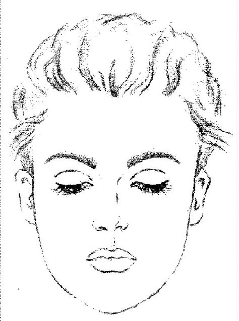 free coloring pages of make up