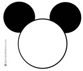 8 images free printable template mickey mouse mickey mouse head template mickey mouse