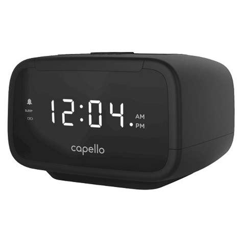 capello 174 cr15 digital am fm alarm clock radi target