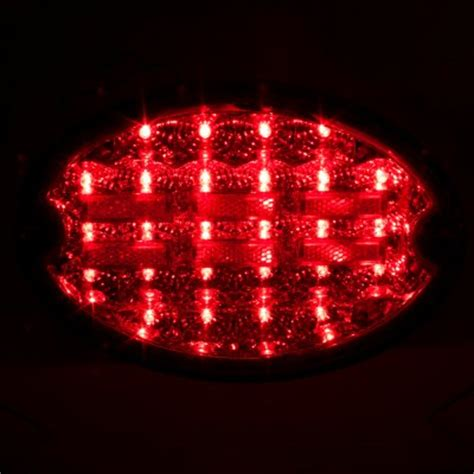 chevy corvette c5 1997 2004 led tail lights red