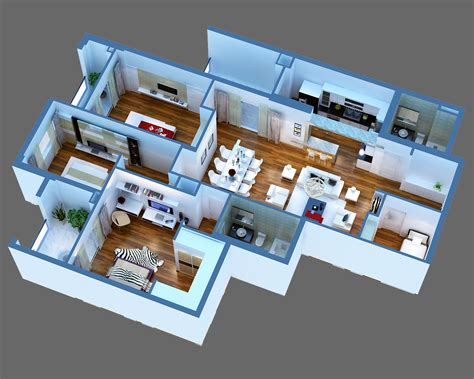 house interior 3d model luxury detailed house cutaway 3d model 3d model buy luxury detailed house cutaway 3d model 3d