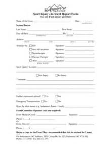 sports injury report form template sport injury form fill printable fillable