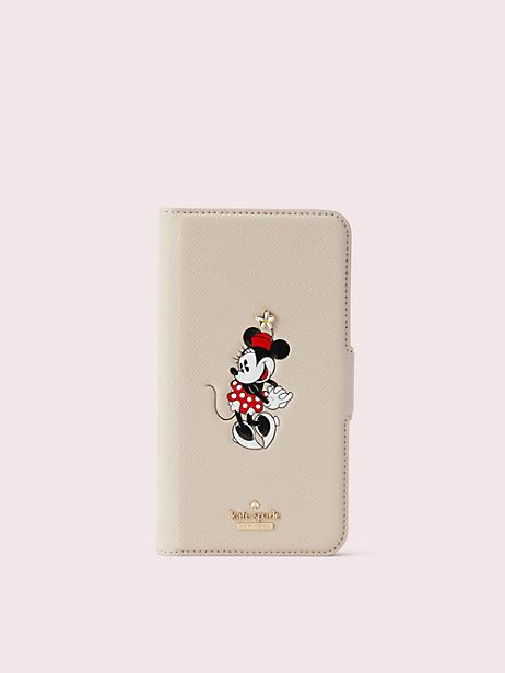 kate spade new york for minnie mouse iphone xr folio kate spade new york