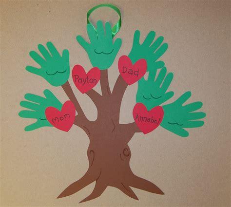 crafts trees clearance handprint family tree keepsake craft kit