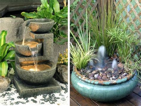 20 small garden water feature ideas to add a more